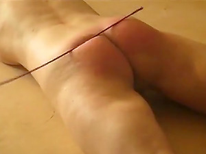 Extreme amateur russian whipping - caning with the crop
