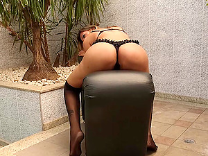 Leticia Andrade enjoys playing with her asshole and big dick all alone.
