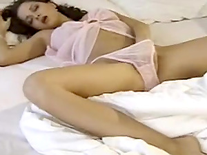 Pink Panty Babe Masturbation