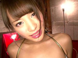 No one loves sticky sperm more than Asian star Kana Momonogi