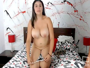 Sexy Busty Babe Drilled by a Lucky Guy