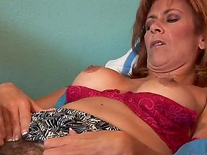 Fucking A Mature Woman With Hairy Cunt.