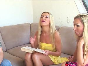 MILF moms Dianna Doll and Lisa De Marco