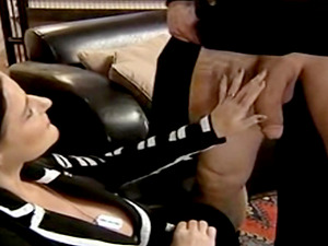 Dutch milf takes his dick in her mouth deep and gets cum load