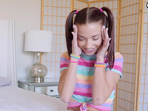 Young Paisley Rae loves to fuck with him until she reaches an orgasm