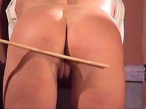 Gorgeous girls get their butts punished before they lick each other's cunts