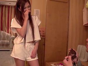 Maki Horiguchi handles japanese cock uncensored