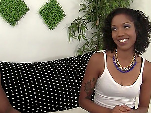 Chocolate Chick Lotus Lane Bangs a BBC