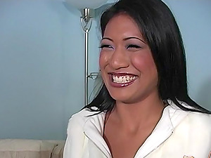 One black dick is enough for Lyla Lei and her naughty friend