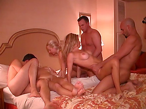 This is a huge real swinger orgy that took place in las vegas!