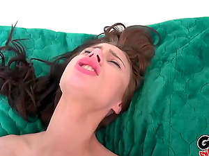 Brunette cutie Anya Olsen loves a fat dick more than anything