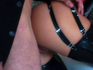 No one rides a fat shaft as good as naughty Mya Diamond does