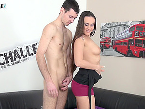 Horny Mea Melone teaches new guy how to fuck proprely
