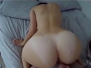 This attractive babe gets a sexy time with her man