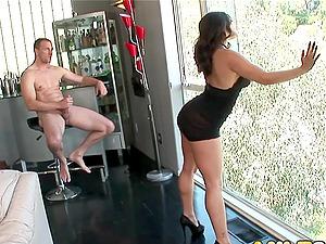 MILF Liza Del Sierra taking anal ride