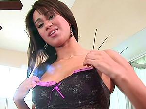 Missy Vega POV handjob with great happy ending cumshot
