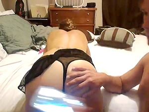 Good sex in trailer with hot veteran woman
