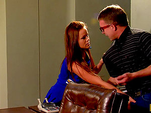 Three Cheers and a Hard-core Fuck for Red-haired Teenager Kaci Starlet