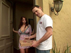 Naturally Chesty Whitney Stevens Liking The Sausage Pizza