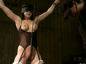 Frolicking Activity in Extreme Restrain bondage Movie for Asphyxia Noir