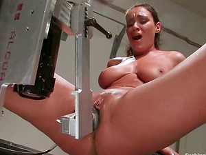 Many Fuck sticks on Machines and Sybian saddle Providing Charley Chase Pleasure