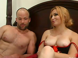 Kinky Pegging and Tantalizing Activity in Domination & submission Vid with Mistress Aiden Starr