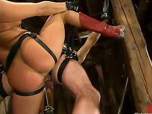 Mischievous Tory Lane bounds a boy and ruins his caboose