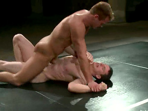 Chad Dylan coerces Martin Lorenzo to suck his fat penis