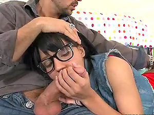 Horny Black-haired Tess Morgan With A Hairy Pubic hair Gets Fucked Hard