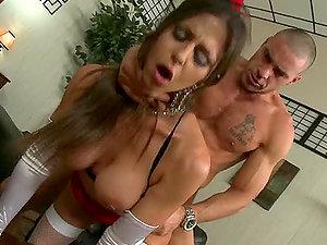 Stunning Rachel Roxxx in Sexy Garb Fucking for Tips