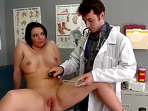 Emma Gets a Close Analysis With Her Gynecology