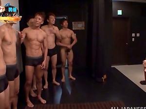 Japanese Cockslut Nana Ogura Having Joy Sucking and Fucking in Group sex