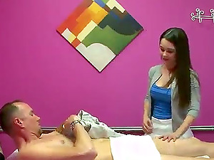 This rubdown is given by a hot oriental with natural tits who knows how to give a xxx rubdown