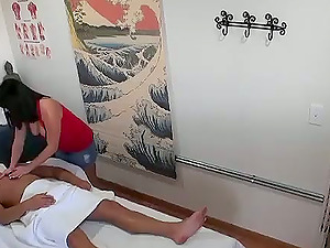 Nice handjob and oral pleasure act from this Asian whore