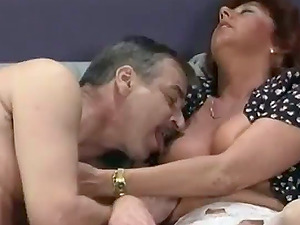 Nasty Mature Whore Gives Her Hubby Supreme Deep throat