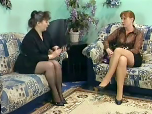 Nasty Group Fucky-fucky Fucking With Two Horny Mature Hoes