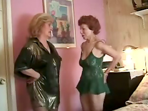 Two Horny Grannys Called Big Black Man rod To Fuck Them Hard