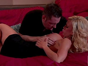 Banging the Hot Buxom Blonde Housewife Amber Lynn
