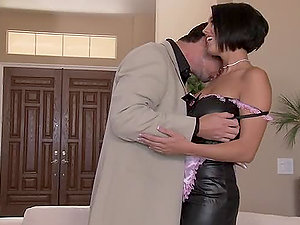 Horny Chesty Black-haired Dylan Ryder Getting a Xxx Fuck