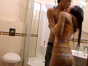 Kinky Dark-haired Gets Fucked in a Very Sexy Clip