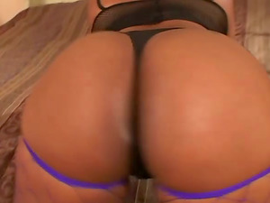 Chubby Black Honey Hypnottic Fucked Doggystyle Until Jizz In Mouth