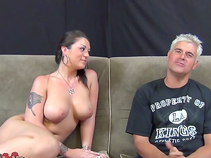 Dark-haired Chick Melina Gobbled In Vulva And Rails A Hard Penis Until She Gets Spunk