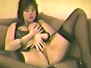 This is a very old retro pornography flick with a curly bunny
