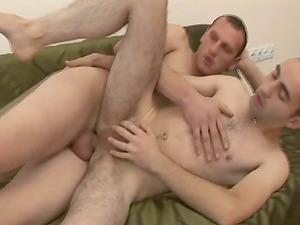 Two faggots are having lovemaking barebacked