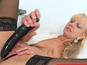 Smoking hot mummy is a dirty minded head nurse