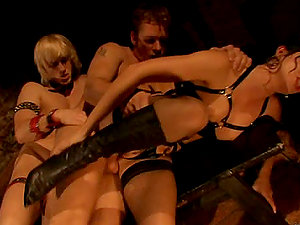 Hot Bondage & discipline Soiree With Tons of Orgasms