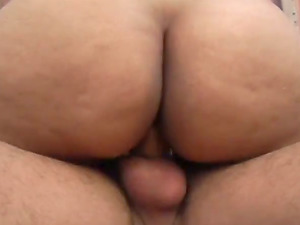 Big Tits on This Chubby Bitch who is Getting Fucked Hard