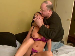 Brandy Aniston permits some old man stuff her twat with a fucky-fucky machine