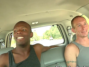 Black And Milky Queer Duo Are Having Nice Butt Fucking
