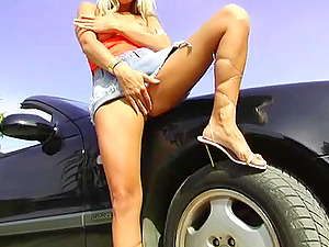 This hot little tart can give a good suck off, a sexy handjob and she can get it done